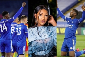 Reality Star, Tacha Reveals Why Kelechi Iheanacho Should Become President Of Nigeria